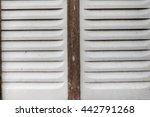 old blind windows | Shutterstock . vector #442791268