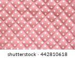 White Polka Dot Over Pink...