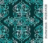 abstract seamless patchwork... | Shutterstock . vector #442814428