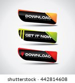 download buttons with vibrant...
