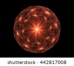 geometry of space series.... | Shutterstock . vector #442817008