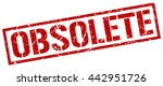 obsolete stamp.stamp.sign... | Shutterstock .eps vector #442951726