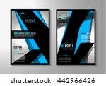 brochure template  flyer design ...   Shutterstock .eps vector #442966426
