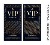 vip club party premium... | Shutterstock .eps vector #442968712
