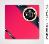 vip club party premium...   Shutterstock .eps vector #442968718