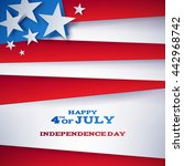 4th july independence day...   Shutterstock .eps vector #442968742