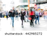 lots of people  tourists and... | Shutterstock . vector #442985272