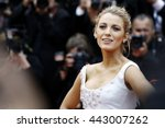 cannes  france   may 13   blake ... | Shutterstock . vector #443007262
