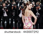cannes  france   may 13  cheryl ... | Shutterstock . vector #443007292