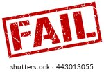 fail stamp.stamp.sign.fail. | Shutterstock .eps vector #443013055
