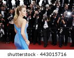 cannes  france   may 14  blake... | Shutterstock . vector #443015716