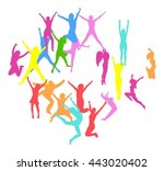 bright idea isolated over white  | Shutterstock .eps vector #443020402