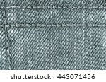 texture of denim  jeans... | Shutterstock . vector #443071456
