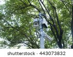 closed circuit camera  cctv... | Shutterstock . vector #443073832
