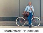 full length portrait of... | Shutterstock . vector #443081008