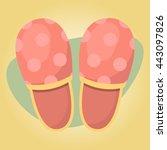 vector illustration of home... | Shutterstock .eps vector #443097826