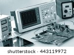laboratory of research... | Shutterstock . vector #443119972