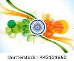 independence day 15 august... | Shutterstock .eps vector #443121682