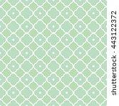 seamless elegant geometric... | Shutterstock .eps vector #443122372