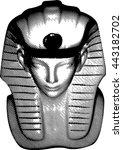 king statue | Shutterstock .eps vector #443182702