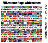 flags of the world  round icons ...   Shutterstock .eps vector #443193142