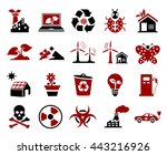 ecology icons | Shutterstock .eps vector #443216926