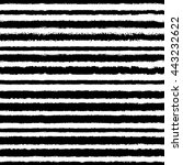 black and white seamless... | Shutterstock .eps vector #443232622