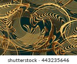 Sculpture  Fractal  Striped ...