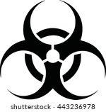 biohazard icon | Shutterstock .eps vector #443236978