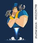 vector character illustration...   Shutterstock .eps vector #443254798