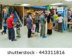 kota kinabalu sabah malaysia  ... | Shutterstock . vector #443311816