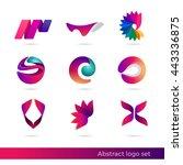creative abstract inspiration...   Shutterstock .eps vector #443336875