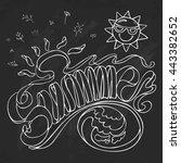 Summer Vector Illustration On...