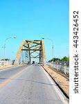 Small photo of bridge abutment