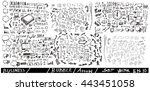 business arrow bubble set ...   Shutterstock .eps vector #443451058