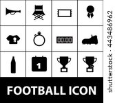 football icon. football sign