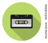 Audio Cassette Flat Style...