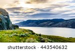 Sunset Over Kamloops Lake Alon...