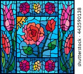 Art Nouveau Stained Glass...