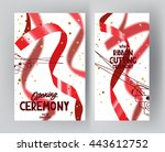 banners for grand opening... | Shutterstock .eps vector #443612752