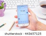 bangkok  thailand   june 27 ... | Shutterstock . vector #443657125