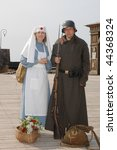 Old Style Picture With Woman I...