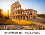 Colosseum At Sunrise  Rome ...