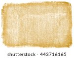 burlap rough fabric background... | Shutterstock . vector #443716165