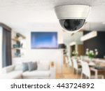3d Rendering Security Camera O...