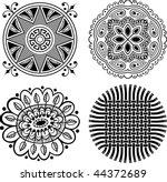 vector decorative design... | Shutterstock .eps vector #44372689