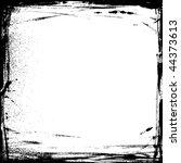 vector grunge frame | Shutterstock .eps vector #44373613