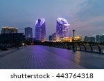 city light in guangdong china | Shutterstock . vector #443764318
