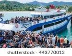 surat thani  thailand  may 20   ... | Shutterstock . vector #443770012