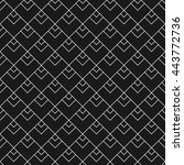 linear seamless pattern with... | Shutterstock .eps vector #443772736